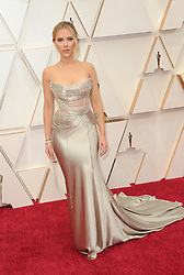 Scarlett Johansson at the 92nd Academy Awards held at the Dolby Theatre in Hollywood, USA on February 9, 2020.