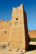 Kasbah in a ruined Ksar in the Ziz Gorge, Morocco .<br /> <br /> Visit our MOROCCO HISTORIC PLAXES PHOTO COLLECTIONS for more   photos  to download or buy as prints https://funkystock.photoshelter.com/gallery-collection/Morocco-Pictures-Photos-and-Images/C0000ds6t1_cvhPo