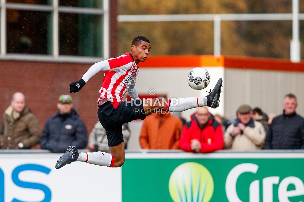 18-11-2017: Voetbal: Onder 19 PSV v Ajax: Eindhoven<br /> <br /> Cody Mathes Gakpo (PSV Eindhoven)<br /> <br /> Jeugd Onder 19 Eredivisie<br /> Seizoen 2017-2018