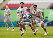 Wasps Centre Malakai Fekitoa during a Gallagher Premiership Round 10 Rugby Union match, Friday, Feb. 20, 2021, in Leicester, United Kingdom. (Steve Flynn/Image of Sport)