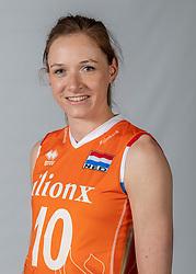 10-05-2018 NED: Team shoot Dutch volleyball team women, Arnhem<br /> Lonneke Sloetjes #10 of Netherlands