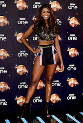 Oti Mabuse at the launch of Strictly Come Dancing 2018 held at The Broadcasting House, London.