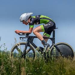 EMMEN (NED) June 16: <br />CYCLING <br />Dutch Nationals Time Trail Women Elite Anneke Dijkstra