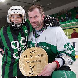 20110406: SLO, Ice Hockey - Slovenian National Championships, HK Olimpija vs Triglav, for 3rd place