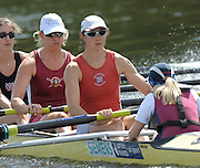 Henley, Great Britain.  Start of the Saturday afternoons  Remenham  Challenge Cup,  GBR W8+ . 2009 Henley Royal Regatta Saturday 04/07/2009 at  [Mandatory Credit. Peter Spurrier/Intersport Images]  left to right, Alison KNOWLES, Sarah WINCKLESS, Lindsey MAGUIRE and Cox Caroline O'CONNER . HRR.