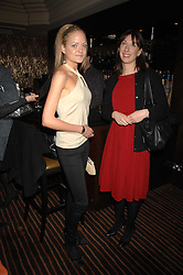 Left to right, LADY ELOISE ANSON and SAMANTHA CAMERON wife of David Cameron MP leader of the Conservative party at a lunch hosted by Ralph Lauren to present their Spring 2007 collection in support of the Serpentine Gallery's Education Programme, held at Fifty, 50 St.James's Street, London SW1 on 20th March 2007.<br /><br />NON EXCLUSIVE - WORLD RIGHTS