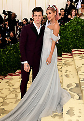 Shawn Mendes and Hailey Baldwin attending the Metropolitan Museum of Art Costume Institute Benefit Gala 2018 in New York, USA.