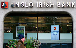 ANGLO IRISH BANK  © London News Pictures 10/01/2011.Irish Prime Minister Brian Cowen is under pressure over his relationship with former Anglo Irish Bank chairman Sen FitzPatrick. Anglo Irish Bank was taken into state ownership in January 2009 and is the largest contributor of assets to the Irish National Asset Management Agency. Picture caption should read Simon Lamrock/LNP