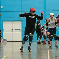 Furious Engine take on Team Crazy Legs at the MRD Sevens Tournament, Salford University Sports Centre, 2018-03-04