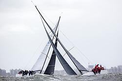 Third day of the North Sea Regatta, Scheveningen, the Netherlands, Sunday, 15th of May 2016.