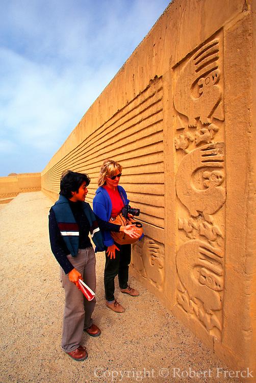 PERU, PREHISPANIC, CHIMU Chan Chan; Palacio Tschuldi