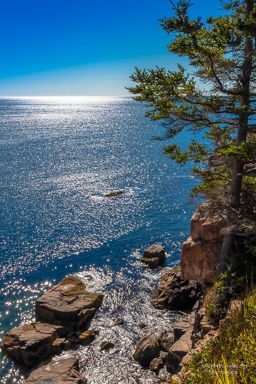One of my favorite images of Acadia National Park.  For me it captures the beauty of the park with so little but yet so much in the image.<br /> <br /> Ironically, this was the first image that I captured on this particular voyage.