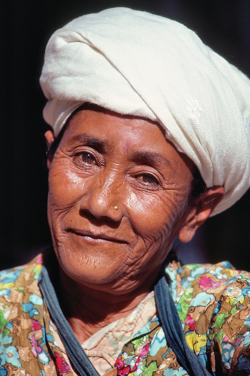 This smiling woman is a vendor at the market in Kalimpong near Darjeeling in northern India.