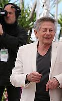 Director Roman Polanski at Venus in Fur - La Venus A La Fourrure Photocall Cannes Film Festival On Saturday 26th May May 2013