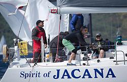 Clyde Cruising Club's Scottish Series 2019<br /> 24th-27th May, Tarbert, Loch Fyne, Scotland<br /> <br /> Day 1, IRL1335, Spirit of Jacana, Carrickfergus SC <br /> <br /> Credit: Marc Turner / CCC