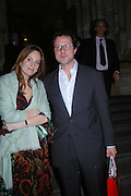"""Emily Oppenheimer and Will turner. Vanity Fair magazine hosts the """"Diamonds"""" Private View and Launch Party at the Natural History Museum. July 6  London. ONE TIME USE ONLY - DO NOT ARCHIVE  © Copyright Photograph by Dafydd Jones 66 Stockwell Park Rd. London SW9 0DA Tel 020 7733 0108 www.dafjones.com"""