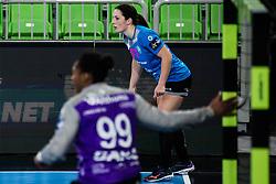 Maja Svetik of RK Krim (SLO) during handball match between RK Krim Mercator (SLO) vs Metz Handball  (FRA) in DELO EHF Women's Champions League 2020/21, on January 16, 2021 in SRC Stozice, Ljubljana, Slovenia. Photo by Grega Valancic / Sportida