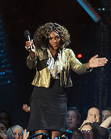 New York, NY-September 13, 2009: Serena Williams performs during the MTV Video Music Awards at Radio City Music Hall on September 13, 2009 in New York City (Photo by Jeff Snyder/PictureGroup)