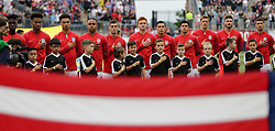 May 28, 2018 - Chester, PA, USA - Chester, PA - Monday May 28, 2018: USMNT starting eleven during an international friendly match between the men's national teams of the United States (USA) and Bolivia (BOL) at Talen Energy Stadium. (Credit Image: © John Dorton/ISIPhotos via ZUMA Wire)