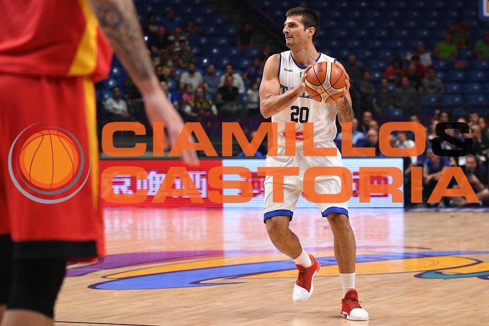 Andrea Cinciarini<br /> Nazionale Italiana Maschile Senior<br /> Eurobasket 2017 - Group Phase<br /> Italia Germania Italy Germany<br /> FIP 2017<br /> Tel Aviv, 05/09/2017<br /> Foto M.Ceretti / Ciamillo - Castoria