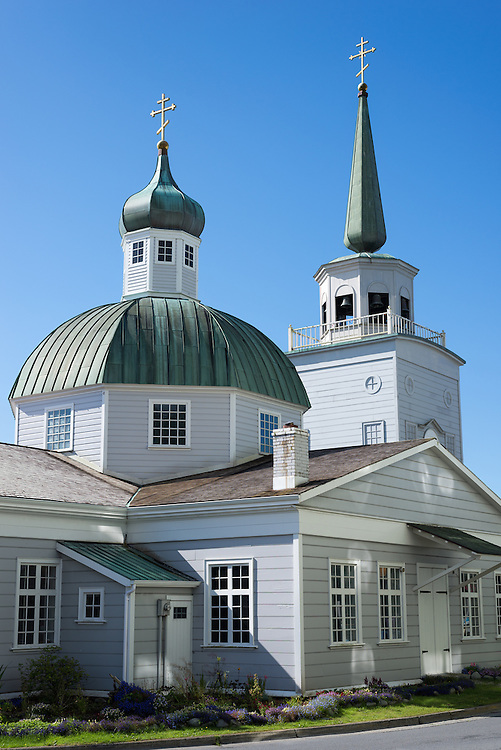 St. Michael's Cathedral, Sitka, Alaska.