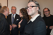 ED VICTOR; JEREMY KING; MARIE HELVIN; DAVID DOWNTON, Opening of Bailey's Stardust - Exhibition - National Portrait Gallery London. 3 February 2014