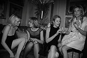 Sophie Dahl, Rita Konig, Sydney Finch and Brooke de Campo,  Charles Finch and Chanel 7th Anniversary Pre-Bafta party to celebratew A Great Year of Film and Fashiont at Annabel's. Berkeley Sq. London W1. 10 February 2007. -DO NOT ARCHIVE-© Copyright Photograph by Dafydd Jones. 248 Clapham Rd. London SW9 0PZ. Tel 0207 820 0771. www.dafjones.com.