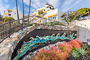 Grace Wall Mural at Laguna Beach Lifeguard HQ