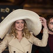 NLD/Amsterdam/20171012 - Televizier-Ring Gala 2017, Emma Wortelboer en .........