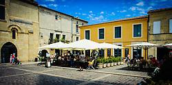 A square in Saint Emilion, France near the Cathedral<br /> <br /> (c) Andrew Wilson | Edinburgh Elite media