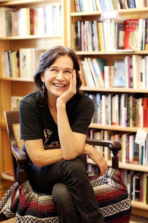 """Author Louise Erdrich photographed in her bookstore, Birchbark Books and Native Arts, in Minneapolis, MN, September 27, 2012.  Erdrich's new book is """"The Round House."""" The novel is about a woman who suffers psychological trauma after an attack, and her son tries to help by visiting the Round House, a sacred space and place of worship for the Ojibwe."""