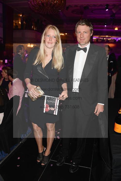 British fine jewellery brand Boodles welcomed guests for the 2013 Boodles Boxing Ball in aid of Starlight Children's Foundation held at the Grosvenor House Hotel, Park Lane, London on 21st September 2013.<br /> Picture Shows:- ZAC GOLDSMITH and his wife ALICE.<br /> <br /> Press release - https://www.dropbox.com/s/a3pygc5img14bxk/BBB_2013_press_release.pdf<br /> <br /> For Quotes  on the event call James Amos on 07747 615 003 or email jamesamos@boodles.com. For all other press enquiries please contact luciaroberts@boodles.com (0788 038 3003)