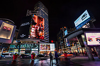 Electronic Billboards of Dundas Square