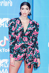 Dua Lipa attend the MTV Europe Music Awards held at the Bilbao Exhibition Centre, Spain on November 4, 2018. Photo by Archie Andrews/ABACAPRESS.COM
