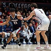 Mar 02, 2019 Moraga, CA  Gonzaga forward Rui Hachimura (21) drives to the basket during the NCAA Men's Basketball game between the Gonzaga Bulldogs and the Saint Mary's Gaels 69-55 win at McKeon Pavilion Moraga Calif. Thurman James / CSM