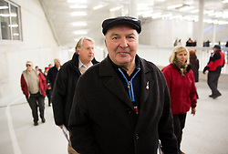 Miro Slibar at official opening of the new Nordic centre Planica, on December 11, 2015 in Planica, Slovenia. Photo by Vid Ponikvar / Sportida