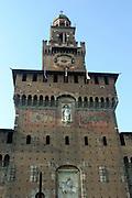 Italy, Milan, Castello Sforzesco
