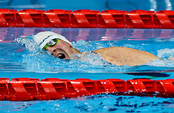 TOKYO, JAPAN --AUGUST 30:  Tim Znidarsic Svensek of Slovenia competes at Men's 50m Butterfly Class S6 during swimming at the Tokyo Paralympics, Tokyo Aquatic center, Tokyo, Japan. Photo by Vid Ponikvar / Sportida