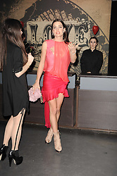 Charlotte Casiraghi at The Love Ball hosted by Natalia Vodianova and Lucy Yeomans to raise funds for The Naked Heart Foundation held at The Round House, Chalk Farm, London on 23rd February 2010.