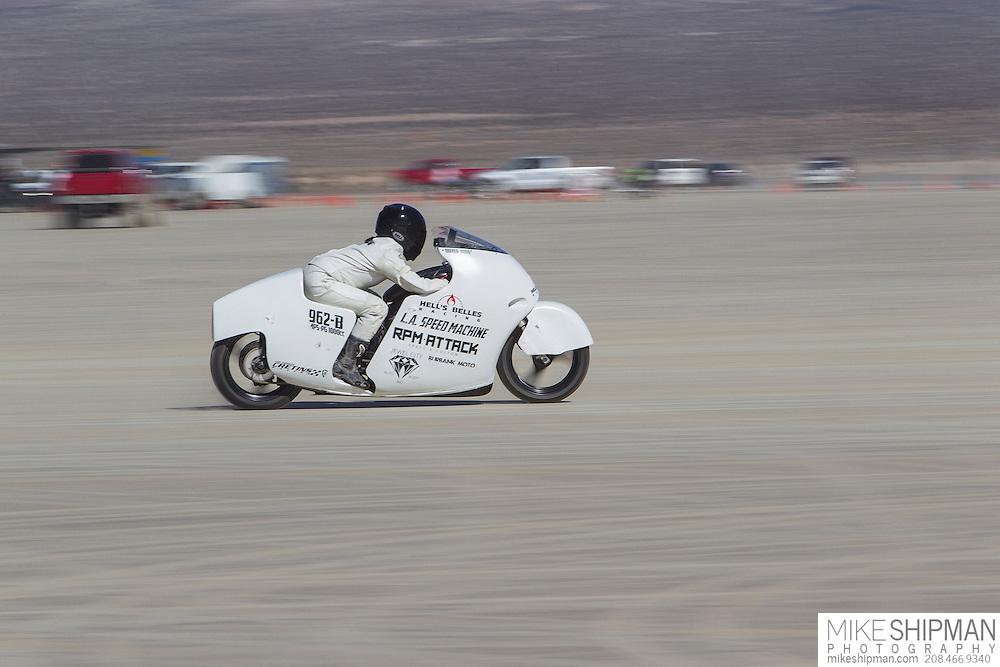 KUBO, 962B, eng 1000CC, body APS-PG, driver KUBO, 124.532 mph, record 148.427