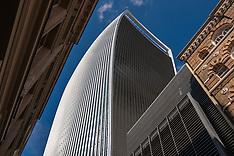 London Landmarks from the Sky