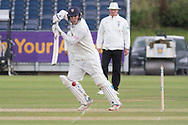Liam Trevaskis batting during the Specsavers County Champ Div 2 match between Durham County Cricket Club and Leicestershire County Cricket Club at the Emirates Durham ICG Ground, Chester-le-Street, United Kingdom on 19 August 2019.