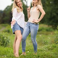 Hannah and Casey