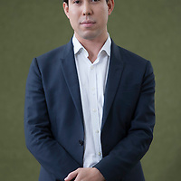 Ben Chu at Edinburgh International Book Festival 2014<br /> 9th August 2014<br /> <br /> Picture by Russell G Sneddon/Writer Pictures<br /> <br /> WORLD RIGHTS