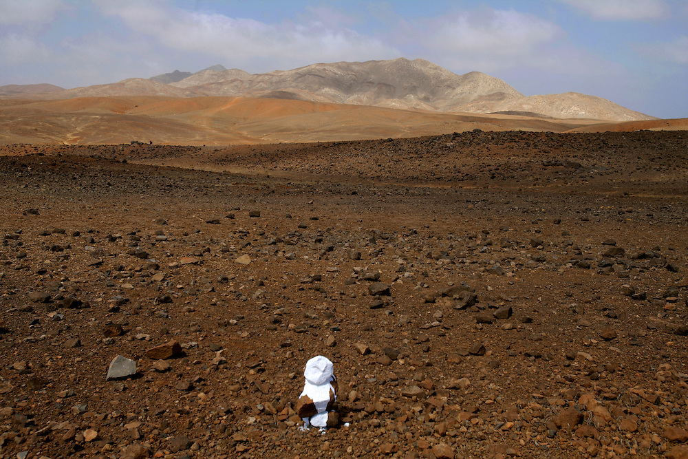 The dryness is one of the most important problems in Cape Verde archipelago and  for a flat island like Maio the lack of water is even more important as there are almost no mountains to retain the water from the clouds. Maio is an arid island so agriculture does not have many chances.