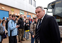 Photo: Daniel Hambury.<br />Reading v Cardiff City. Coca Cola Championship.<br />02/01/2006.<br />Cardiff's manager Dave Jones arriving at the game.