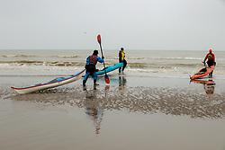 Kayaking in corona time<br /> Oostduinkerke Bad 2020<br /> © Hippo Foto - Dirk Caremans<br /> 29/11/2020