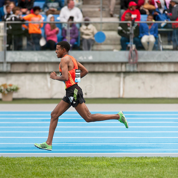 adidas Grand Prix Diamond League professional track & field meet: Hagos Gebrhiwet, Ethiopia, 5000 meters