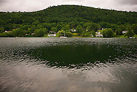 Cooperstown, New York, home of the Major League Baseball Hall of Fame.<br /> <br /> (Photo by Robert Caplin)