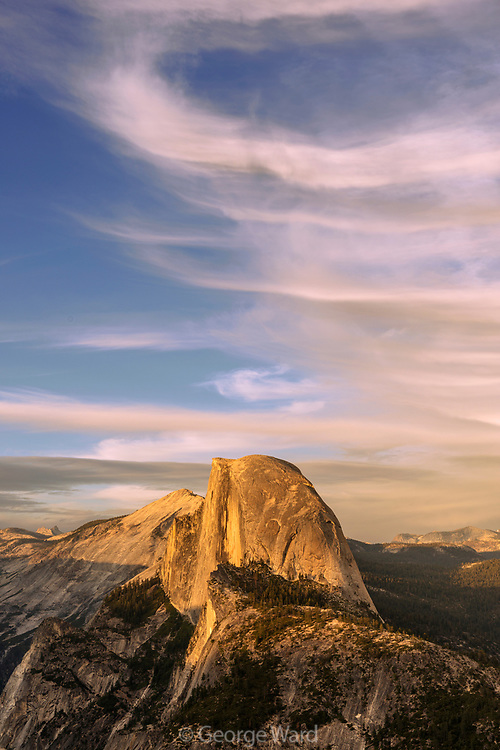 Half Dome and from Glacier Point, Yosemite National Park, California